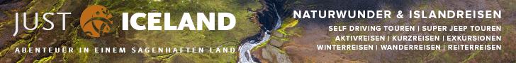 Aktivreisen nach Island mit Just Iceland!
